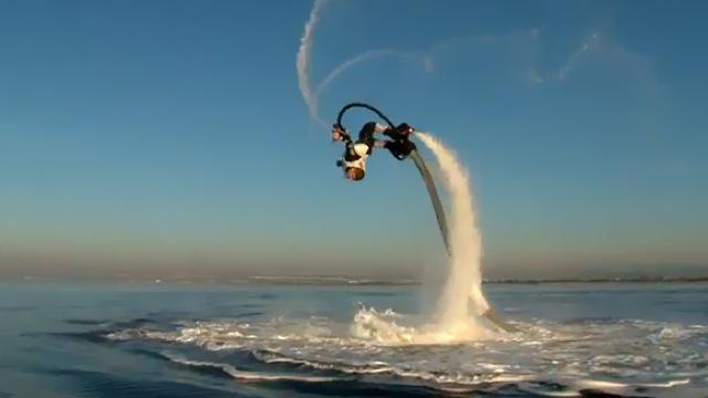 Le Flyboard, pour s'envoler sur l'eau !